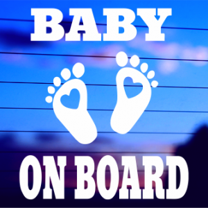 0057               Baby On Board - Feet