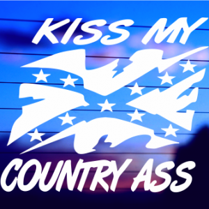 0208                    Kiss My Country Ass