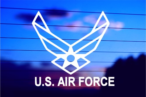 Us Air Force Symbol Car Decal Sticker