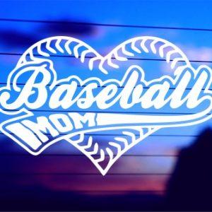 A-0326 Baseball Mom in Heart (500 x 335)