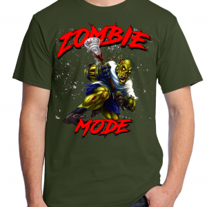 Zombie Mode - Lacrosse - Military Green