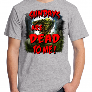Sunday Are Dead To Me - Athletic Heather Gray