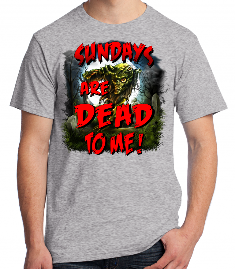 Walking Dead T-Shirt – Sundays Are Dead To Me