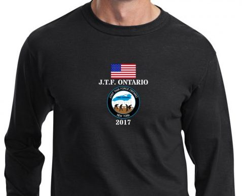 OPERATION LAKE ONTARIO-PROUDLY SERVED-NATIONAL GUARD LONG SLEEVE T-SHIRT
