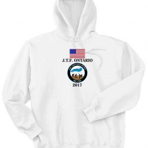 OPLO white hoodie fr