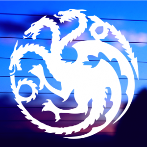 0694 Game of Thrones Targaryen Logo