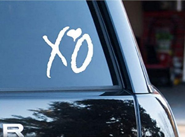 The Weekend XO Drake Rap Lifestyle Die Cut Decal Sticker for Laptop Car Window Tablet Skateboard